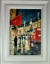 Rowbotham, 'One the Move 1', 5/1015, hand enhanced canvas, 36 x 51cm, with certificate of authenticity