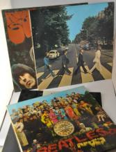 The Beatles - four LPs