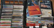 Various artists - a large collection of CDs in two boxes