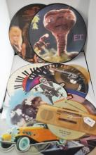 Various artists; collection of ten 1980s picture discs including Level 42, Strawberry Switchblade, Nick Hayward and John Williams