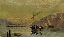 Francois Bocion Crossing the Lake