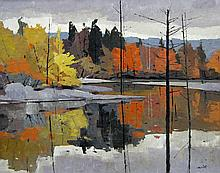 Donald Smith Reflections, South Muskoka River