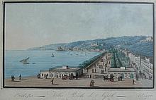 Neopolitan School 19th C. Villa Reale de Napoli; Napoli da Capodimonte