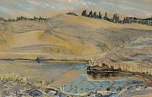 Sonia Cornwall Lake Landscape