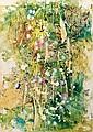 Waldemar Smolarek Abstract with Blue, Pink & Green Orbs