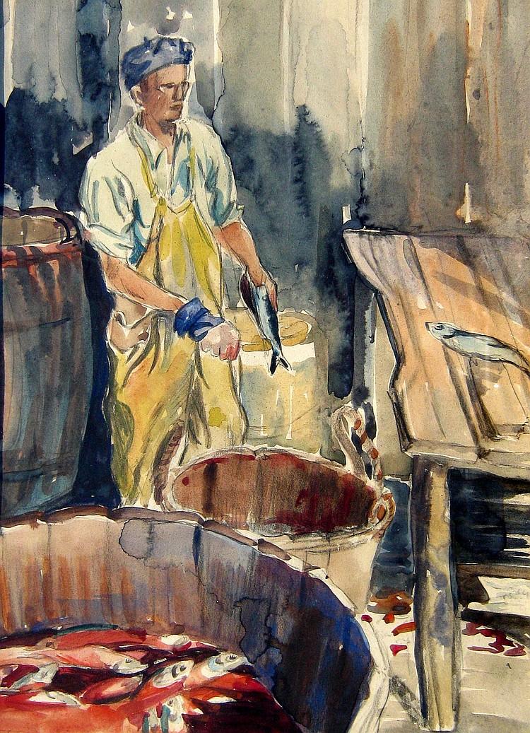 Ruth Wainwright Splitting Fish