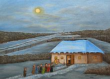 Doris Zaharichuk Evening Visitors