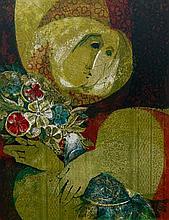 Sunol Alvar Woman with Bird