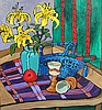 Diane Adolph Yellow Lilies