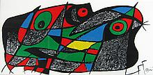 Joan Miro Abstract Composition