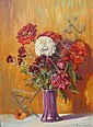 Robert Lindsay Floral Still Life, 1924, Robert Henry Lindsay, Click for value