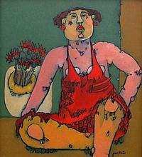 Jane Martin Seated Woman