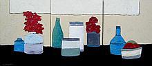 David Edwards Thinking of Morandi (triptych)