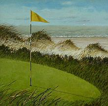 Arnie Fisk Ocean View from the Green