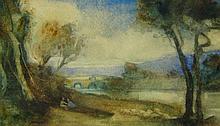 William Brock Landscape near Normandy