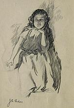 John Gordon Seated Young Girl
