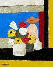 David J. Edwards Untitled - Flowers & Figure