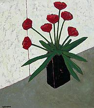 David J. Edwards Favourite Black Vase