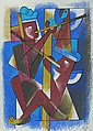 Carlos Merida Figures with Pipes