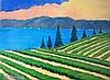 David J. Edwards Lakeside Vineyard, Evening