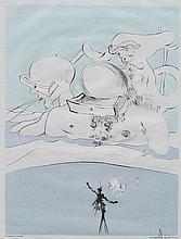 Salvador Dali Expulse Comme un Megot par des Magots