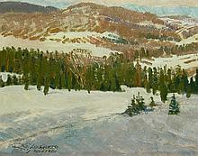 Robert Elmer Lougheed In the Soft March Sun
