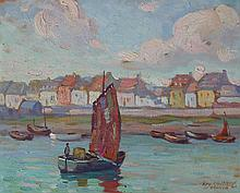 Edward Glen Harbour, Etaples, 1921