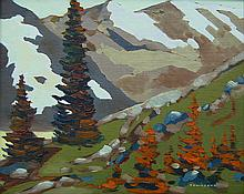 Bill Townsend, Mountain Landscape