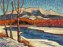 Nicholas Bott River and Cronin Mountains