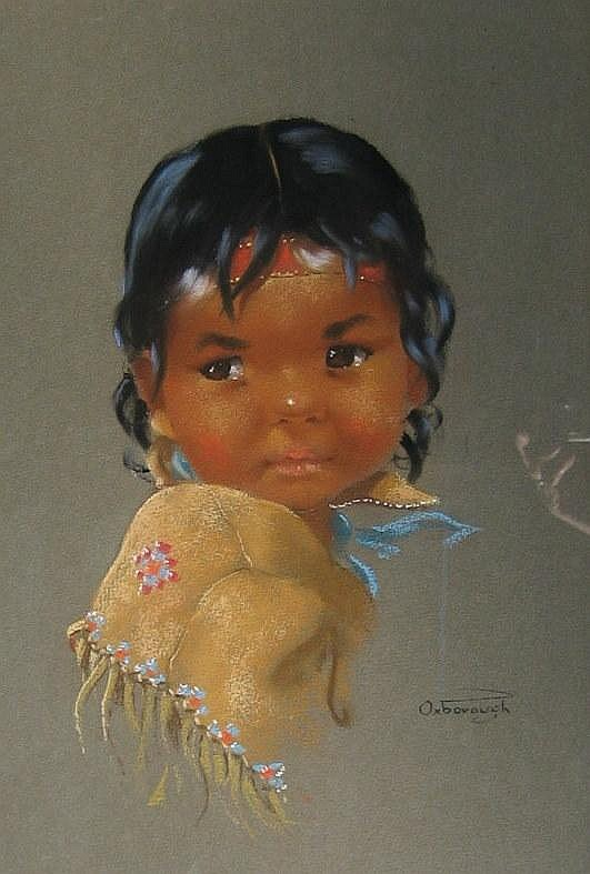 Dorothy Oxborough, Native Girl
