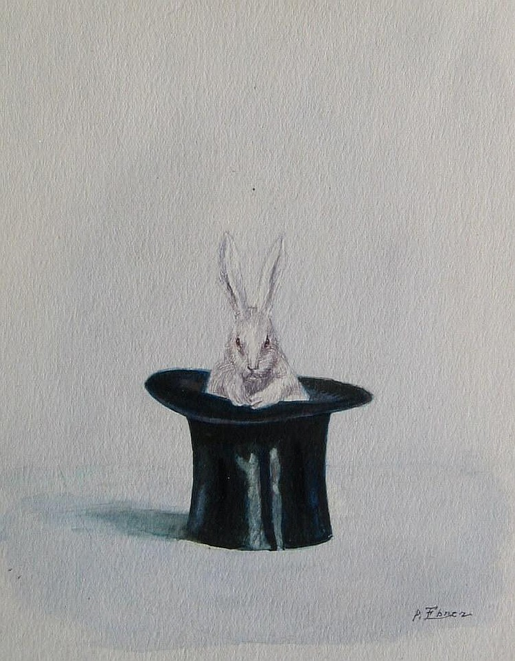 Ebner, Rabbit in Top Hat