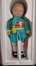 Vintage Effanbee 1994 Limited Edition Porcelain Patsy Doll By Effanbee Doll Company