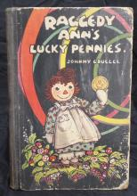 Vintage 1932 Raggedy Ann's Lucky Pennies By Johnny Gruelle