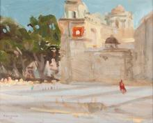 Mission, by Joe Abbrescia (1936 - 2005)