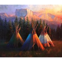 Chief Mountain Trio, by Colt Idol