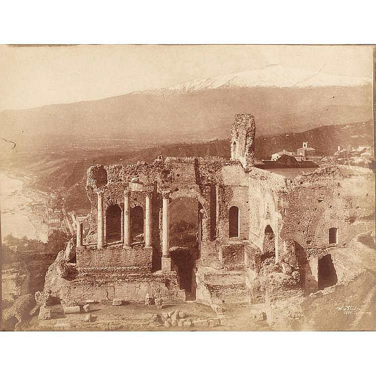 Wilhelm von Gloeden (1856-1931), Teatro Greco, Taormina