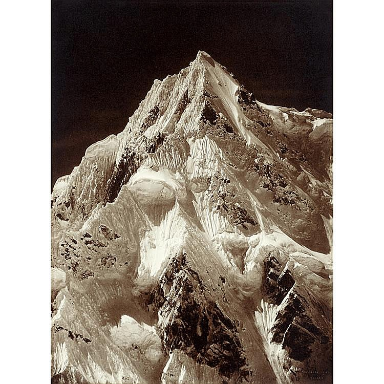 Vittorio Sella (1859-1943), Telephoto, Summit Siniolchun