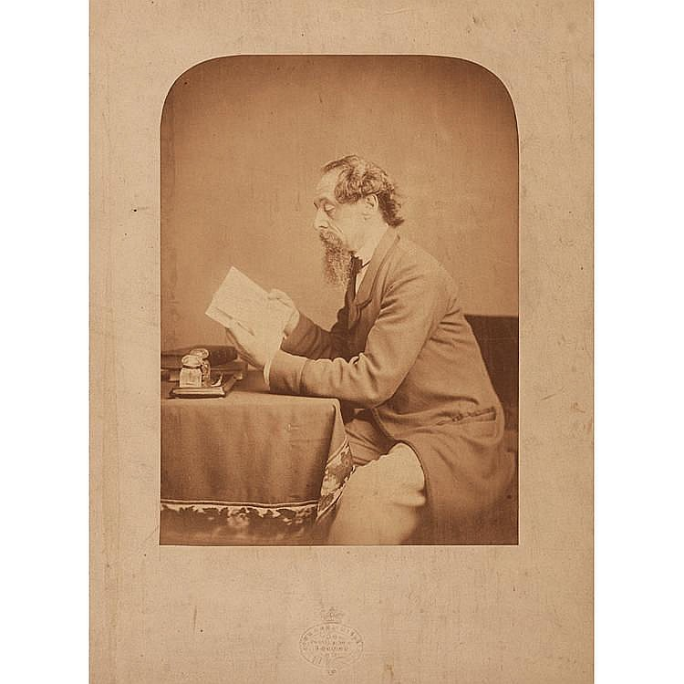 John & Charles Watkins (active 1840-1875), Charles Dickens