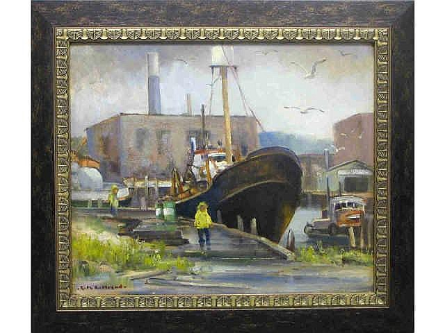 Ruth B. Anderson (IN, 1914-2002) 20 x 23.75 Oil on