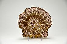 Murano Shell Shaped Glass Dish
