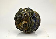 Danish Stoneware Pottery Sculpture