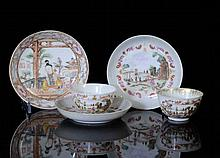 18TH C CHINESE EXPORT FAMILLE ROSE PORCELAIN WARES