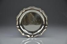 FRENCH SILVER DINNER PLATE