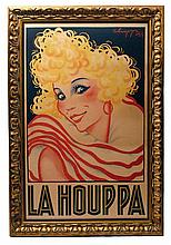 La Houppa poster by Choppy, 1926