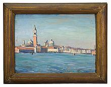 Oil on academy, Venice, Julian Joseph 1910