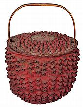Two 19th c. NE Native American baskets