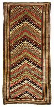 Antique Gendjeh rug, 3' x 7'