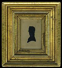 Rare hollow-cut silhouette
