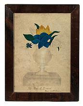 Still life w/c, flowers, H.G. Stevens