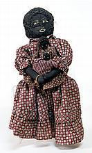20th c. cloth black dolls